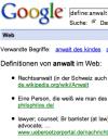 Definition Anwalt